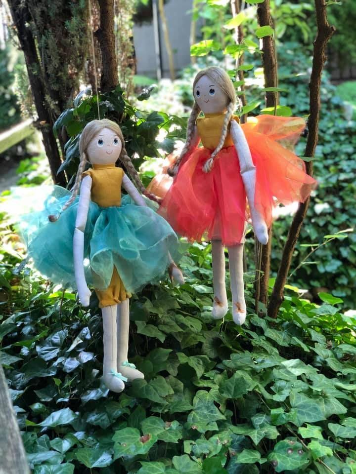 Lniane aniołki i baletnice